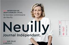 Neuilly journal couverture Claire Chazal