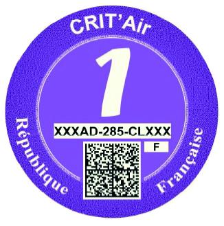 critair violet 1