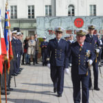 ceremonie fanion jeunes volontaires Militaire