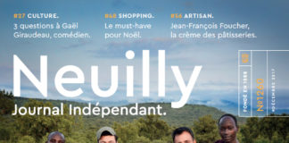 Couverture Neuilly Journal decembre 2017 kev Adams