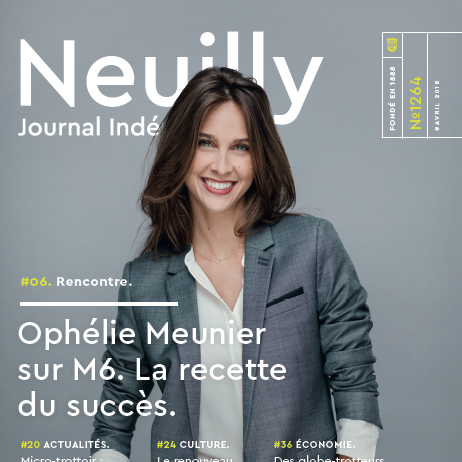couverture neuillyjournal 1264 avril 2018
