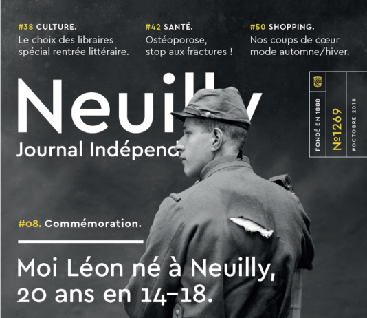 couverture neuilly journal