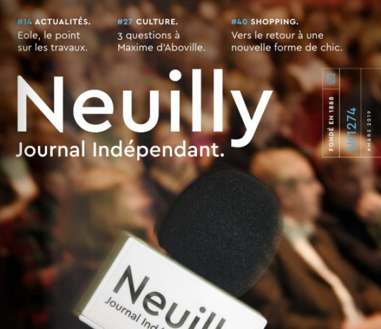 Couverture Neuilly Journal 1274 avril