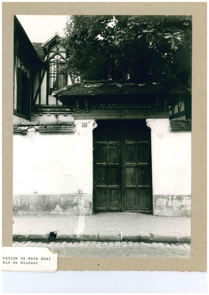 Maison Mata-Hari rue Windsor Neuilly