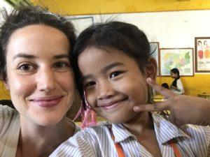 Berenice au Cambodge association enfants