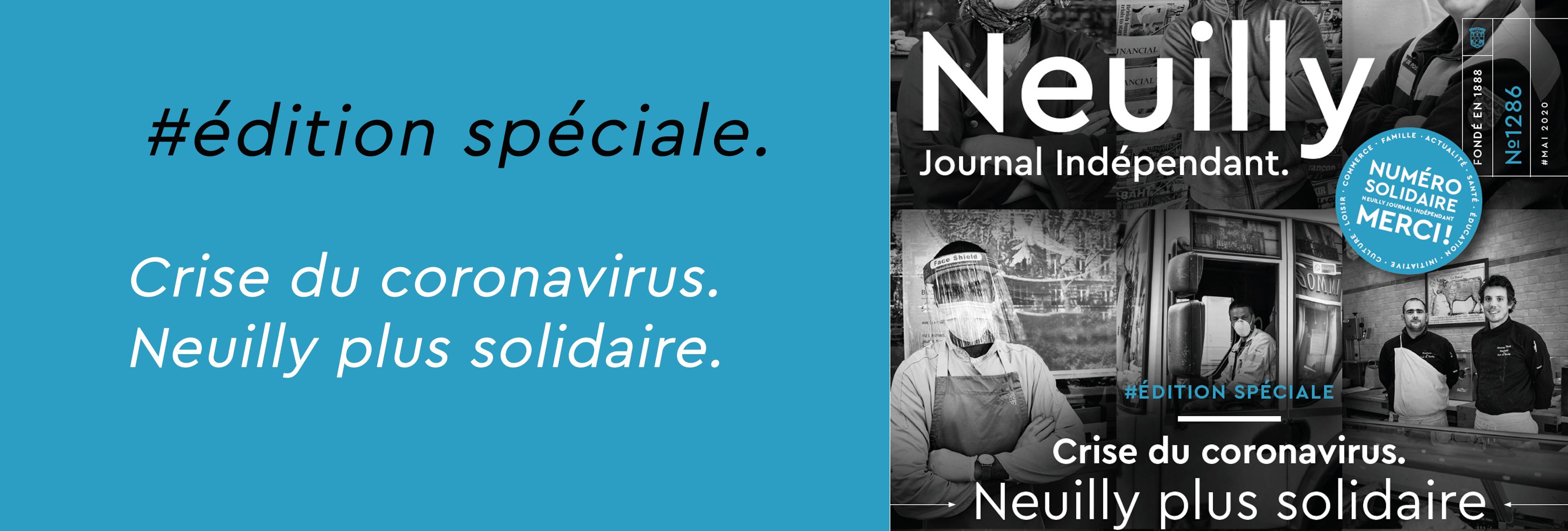 coronavirus information neuilly solidarite
